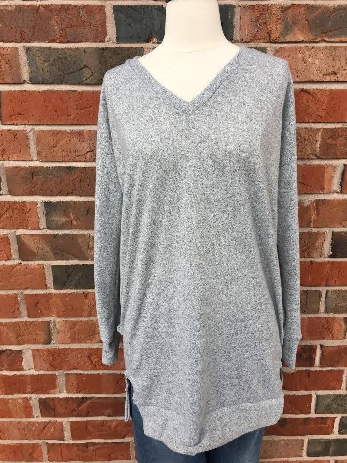 H. Grey Sweater Tunic