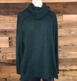 Hunter Green Turtle Neck Sweater