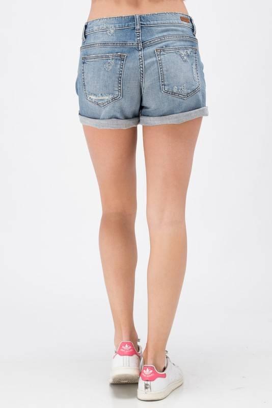 Mid-Rise Boyfriend Shorts