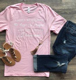 Pink Remember Tee