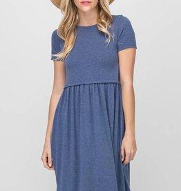 Slate T-Shirt Dress
