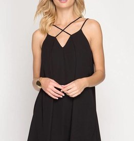 Black Strappy Dress