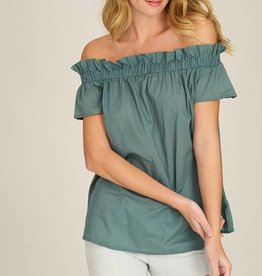 Dk Sage Off Shoulder Top