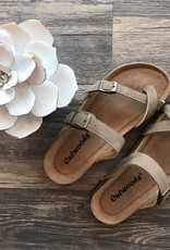 Taupe Birk Sandals