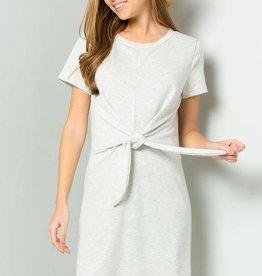 H. Grey Knot Dress
