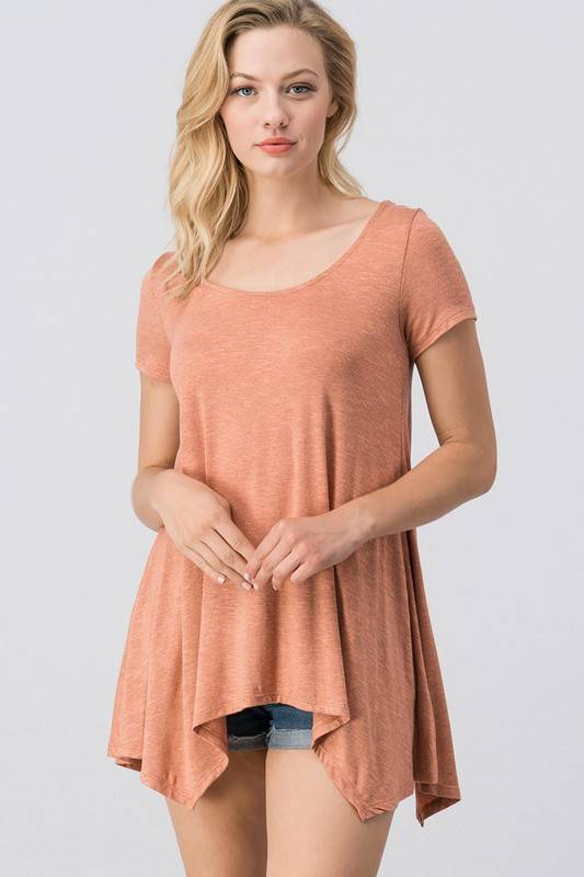 Apricot Cage Tee