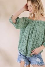 Sage Crochet Top