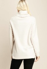 Stone Turtleneck Pullover
