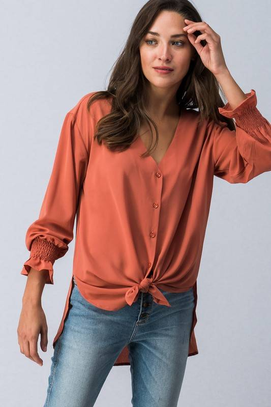 Rust High-Low Top