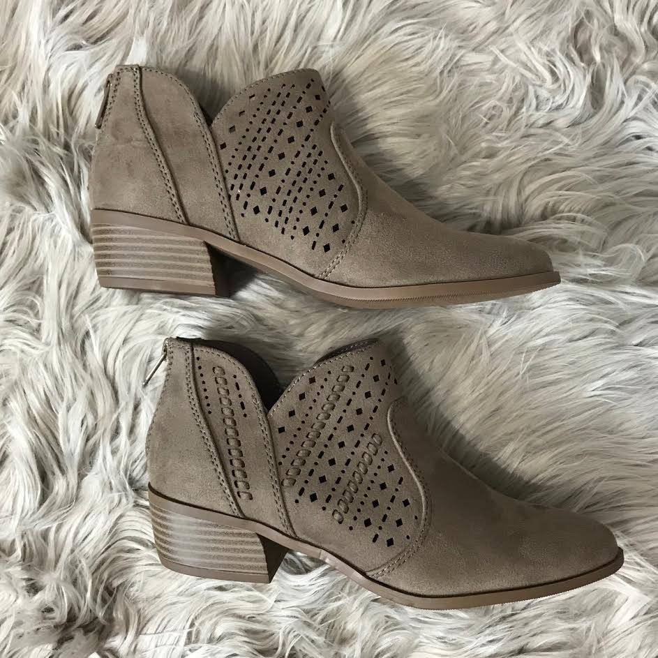 Taupe Emerge Bootie