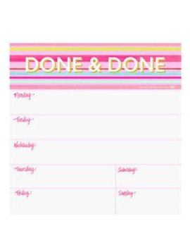 Ashley Brooke Designs Done & Done Notepad