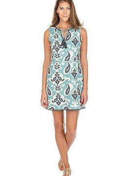 Jade Sandra Teal Dress