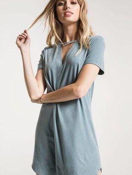 ZSupply Suede Cutout Dress
