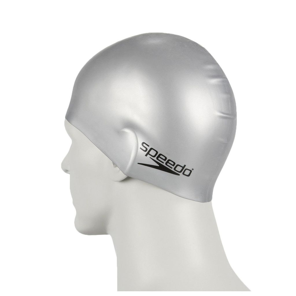 SPEEDO SPEEDO SILICONE SWIM CAP solid