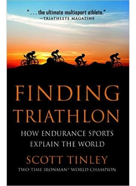 RANDOM HOUSE FINDING TRIATHLON - Scott Tinley (paperback)