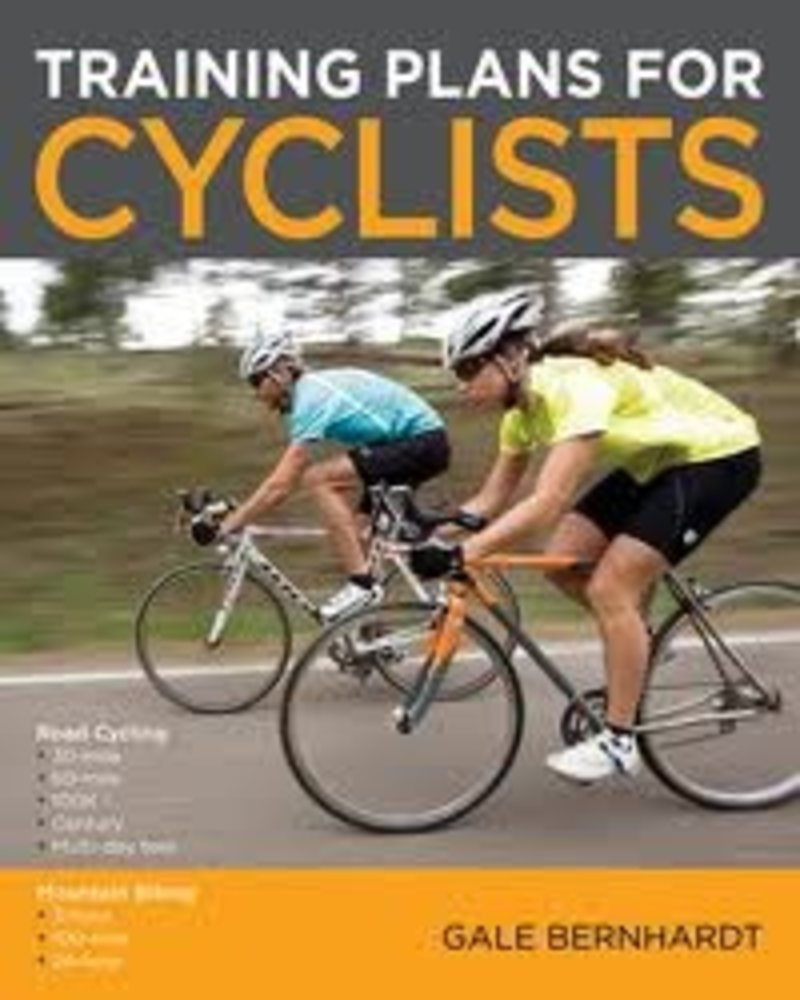 Velopress TRAINING PLANS FOR CYCLISTS, G. BERNHARDT