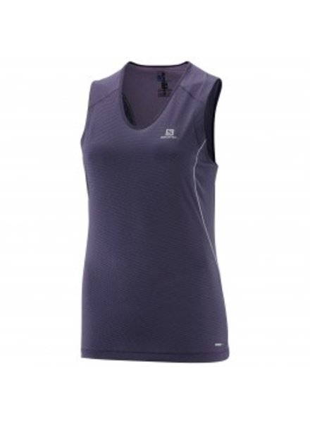 SALOMON WOMEN'S TRAIL RUNNER SLEEVELESS TANK