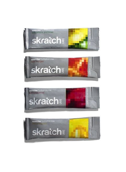 SKRATCH EXERCISE HYDRATION MIX -  SINGLE SERVING