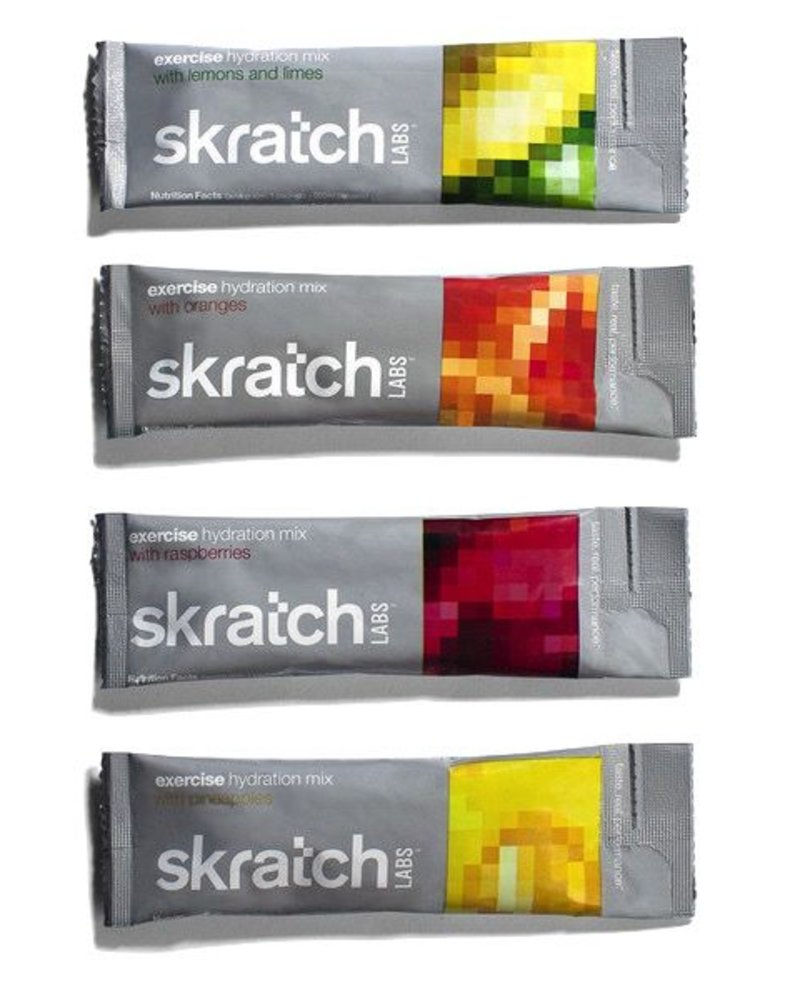 SKRATCH SKRATCH EXERCISE HYDRATION MIX -  SINGLE SERVING