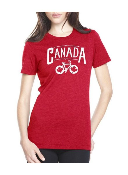 PEDAL PUSHERS WOMEN'S PEDAL PUSHERS CLUB CANADA  T-SHIRT