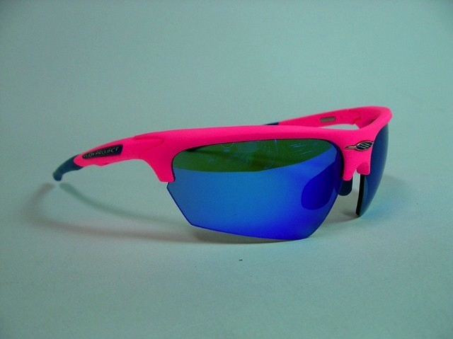 Rudy Project RUDY PROJECT NOYZ - PINK FLUO/BLUE LENS