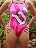 Wattie Ink WATTIE INK WOMEN'S ONE PIECE SWIM SUIT