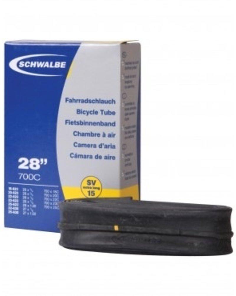 Schwable SCHWALBE ROAD TUBE PRESTA 80MM 700X18-25C