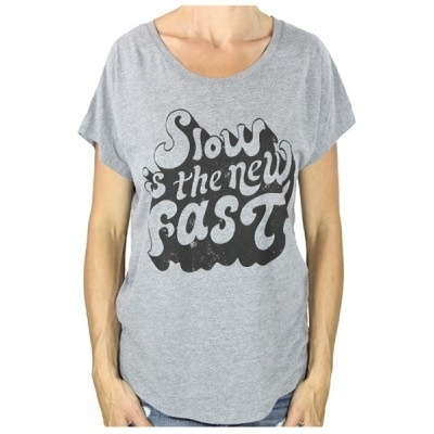 Endurance Conspiracy ENDURANCE CONSPIRACY WOMEN'S TEE - SLOW IS THE NEW FAST
