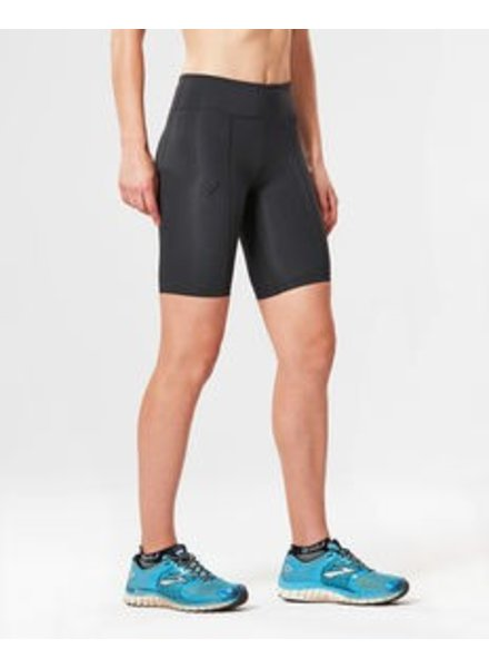 2XU MID RISE COMPRESSION SHORT (WA3027b) L