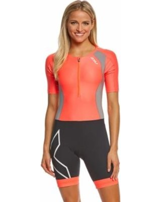 2XU 2XU WOMEN'S COMPRESSION Sleeved Trisuit (WT4445)