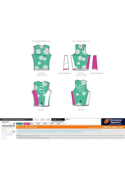 Champion System DAISY TRI TOP