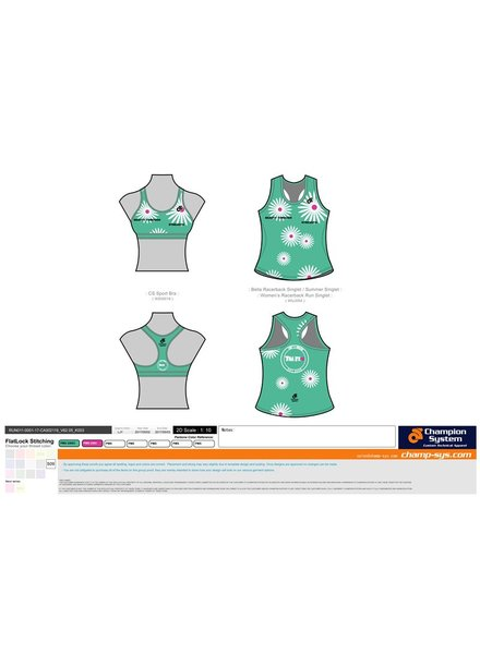 Champion System DAISY TRI IT BRA