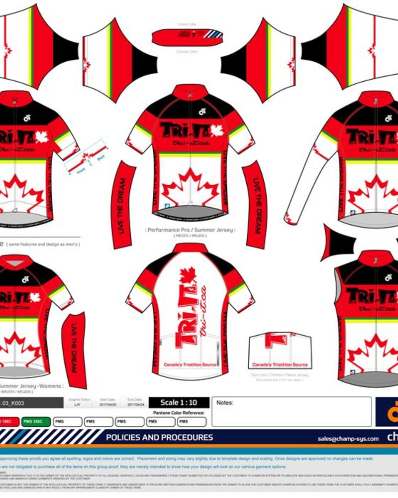 Champion System CHAMPION SYSTEM WHITE RETRO TRI IT CYCLING JERSEY