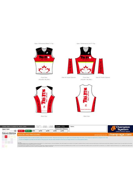 Champion System WHITE RETRO TRI IT TRI TOP