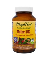 Mega Food Mega Food Methyl B12 - 60 caps