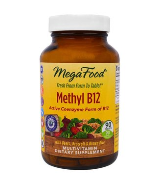 Mega Food METHYL B12 - 60 caps