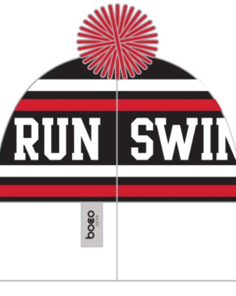 Boco SWIM BIKE RUN POM POM BEANIE