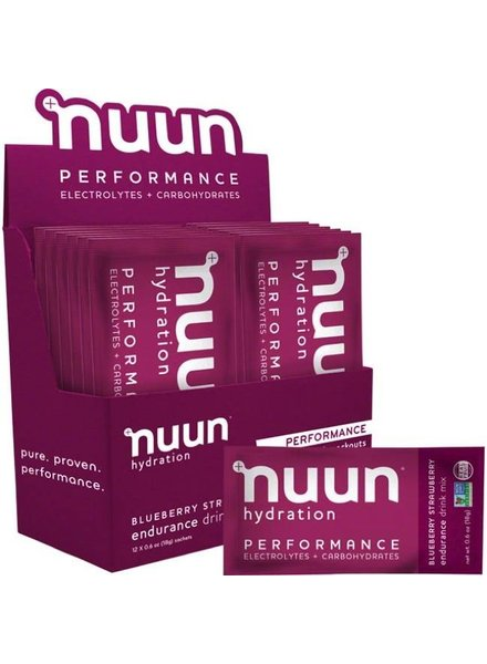 Nuun PERFORMANCE DRINK MIX - box of 12 singles