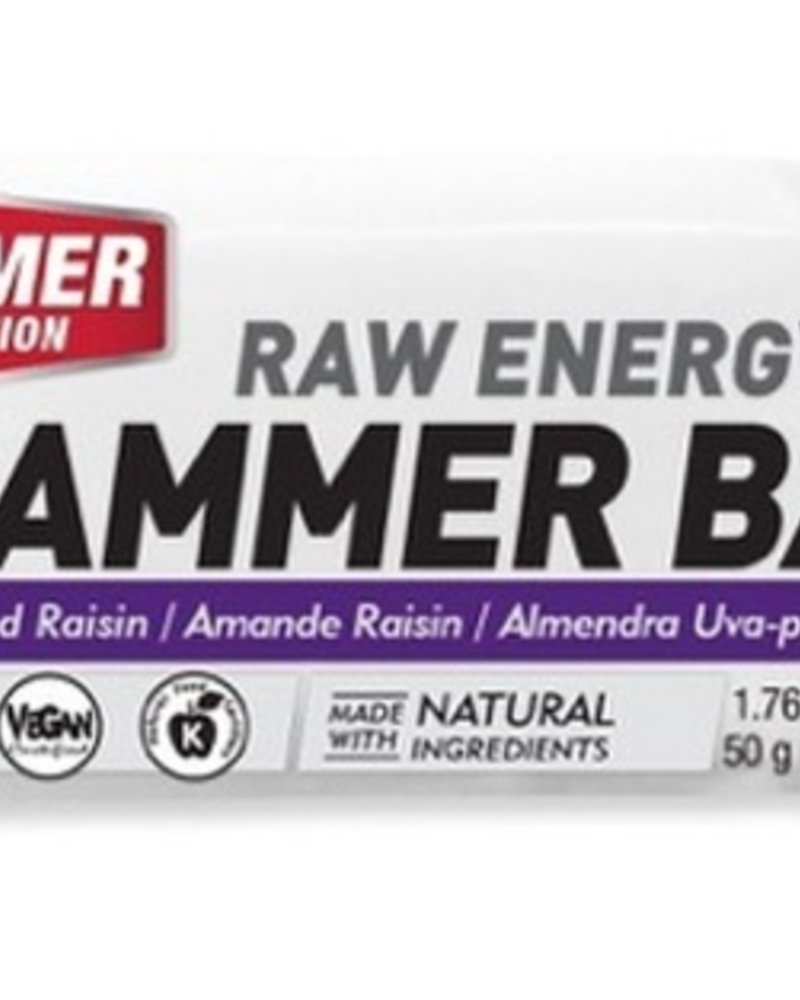 Hammer Nutrition HAMMER BAR (Box of 12) ALM/RAISIN single