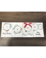 LOCAL HANDMADE CHRISTMAS CARDS