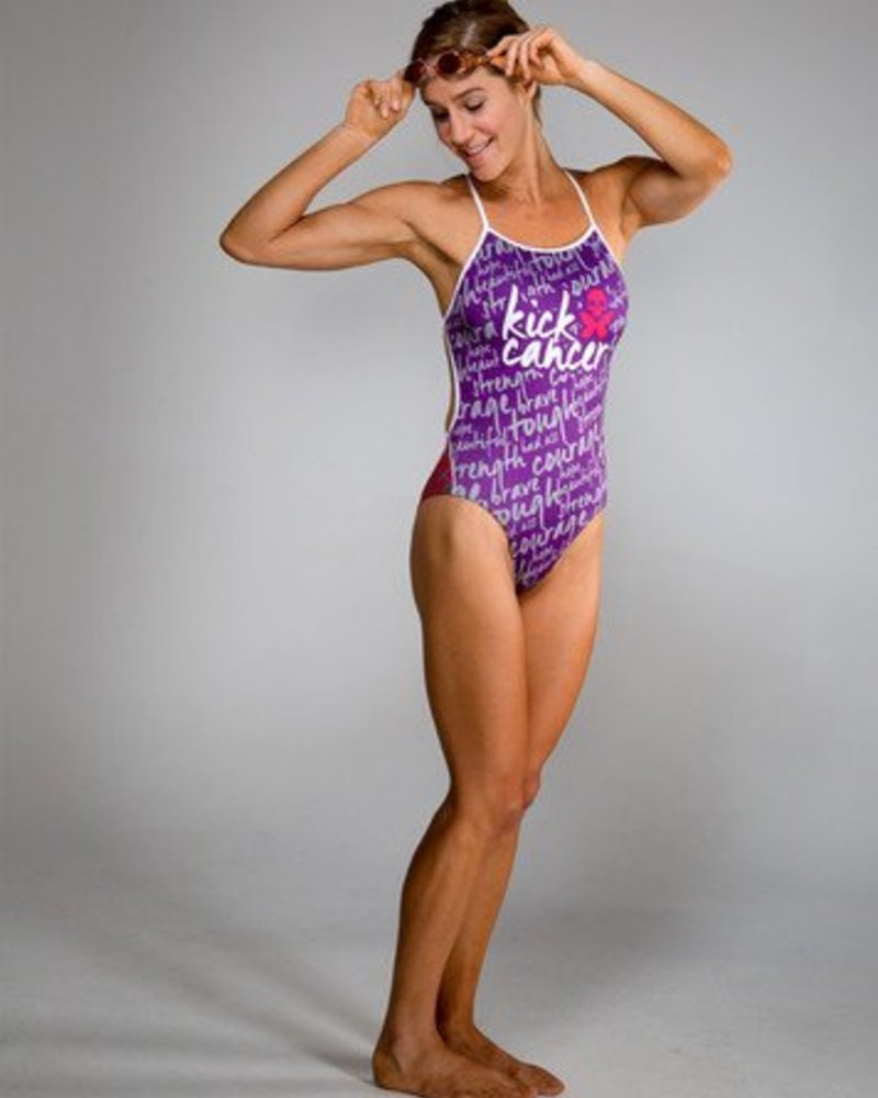 Betty Designs BETTY DESIGNS KICK CANCER SWIMSUIT