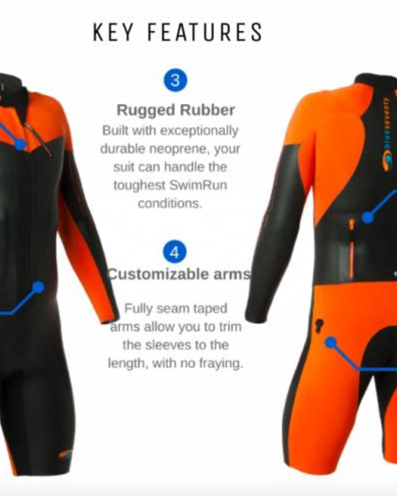BLUESEVENTY BLUESEVENTY MEN'S ALLIANCE SWIMRUN SUIT