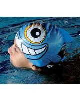 Arena FISH JR SILICONE SWIM CAP