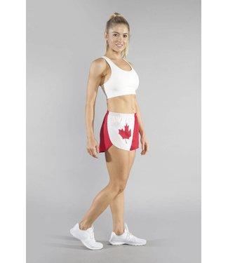 """Boa Women's Canada 1"""" Split Run Short"""