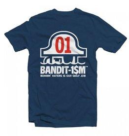 Bandit1sm Tee - Bandit1sm Logo - Navy