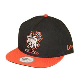 Dissizit NE Snapback - LA #1 - Black/Orange