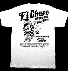 Dissizit Tee - El Chop Shop - White