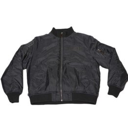 Dissizit Lightweight Flight Jacket - Black