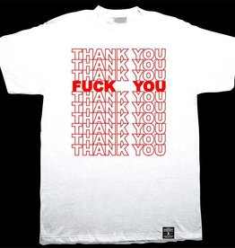 Dissizit Tee - Thank You - White