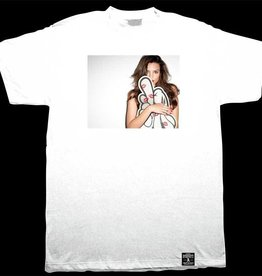 Dissizit Tee - Blurred Kisses - White